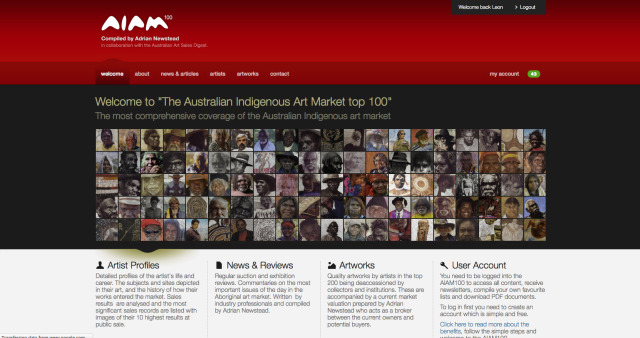 New AIAM100 Homepage